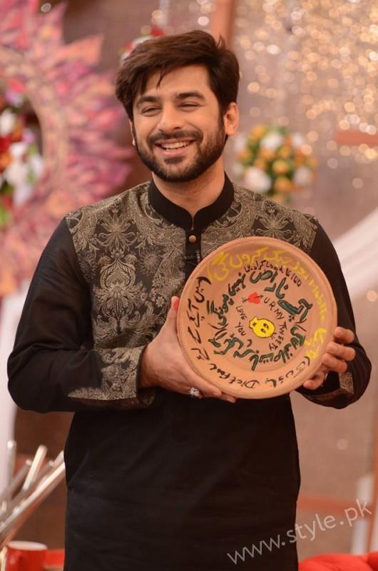 Kon Bane Gi Humayun Asraf Ki Dulhan Special Show in Good Morning Pakistan (7)