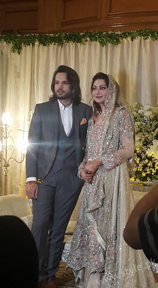 Nouman Javaid and Jana Malik- Pakistani Celebrities Married in 2016
