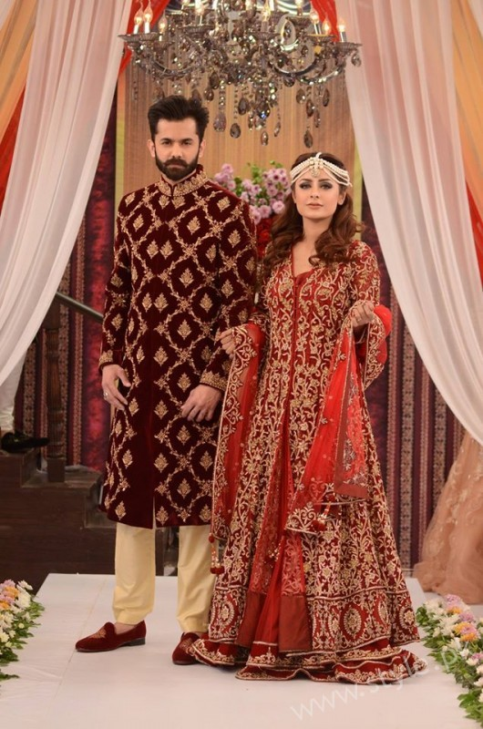 Pakistani Brides And Grooms Fashion Trends Displayed In