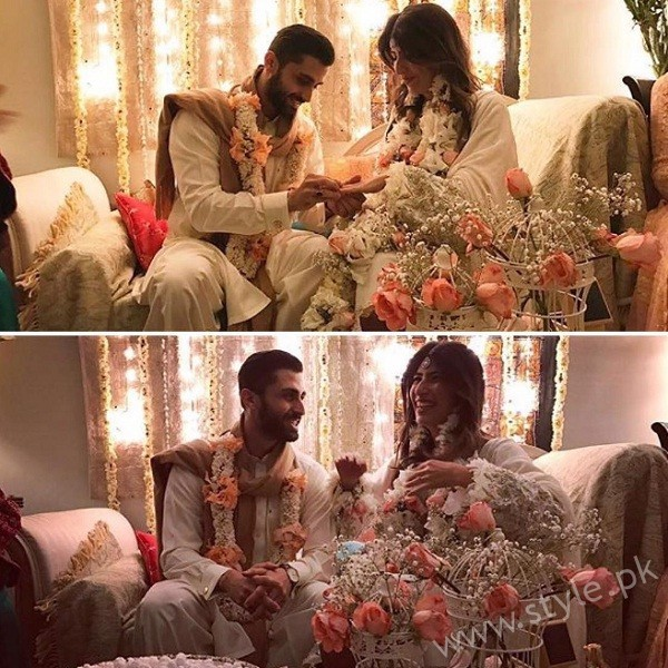 Palwasha Yousuf Engagement Picture
