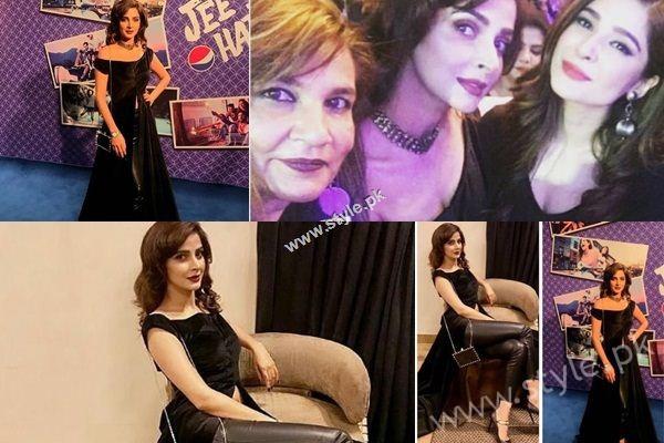 See Saba Qamar at Atif Aslam's Jee Lay Har Pal Launch Event