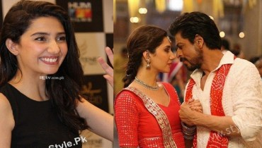 Shah Rukh Khan and Mahira Khan In Raees