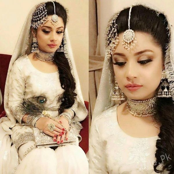 Sidra Batool Wedding Picture