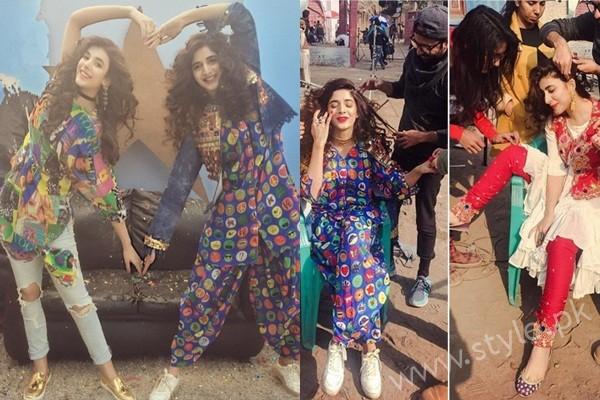 See Urwa Hocane and Mawra Hocane's Photoshoot for Rang Ja