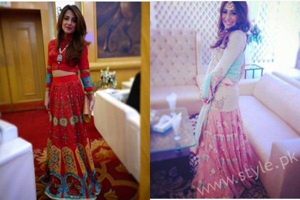 See Ushna Shah at her Friend's Wedding