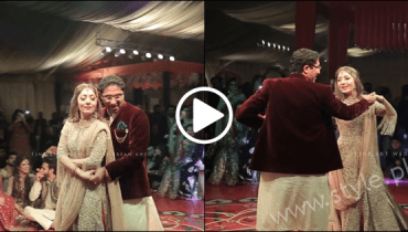 See Sharmeela Farooqi's Romantic Dance with Husband