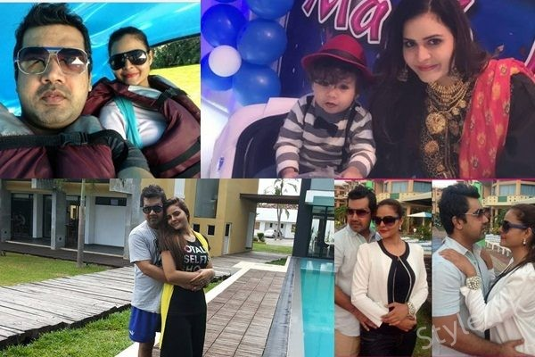 See Beenish Chohan Family Pictures