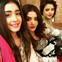 Actress Farah Shah & friends