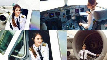 See PIA Female Pilot Huma Liquat's Pictures are going Viral on Social Media