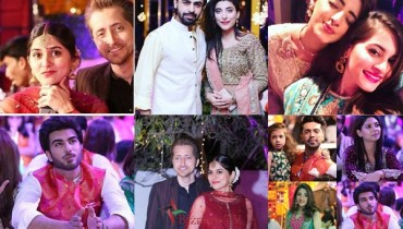See Star Studded Mehndi Ceremony of Abdullah Seja
