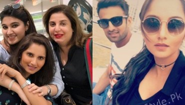 See Shoaib Malik and Sania Mirza Vacationing in Dubai
