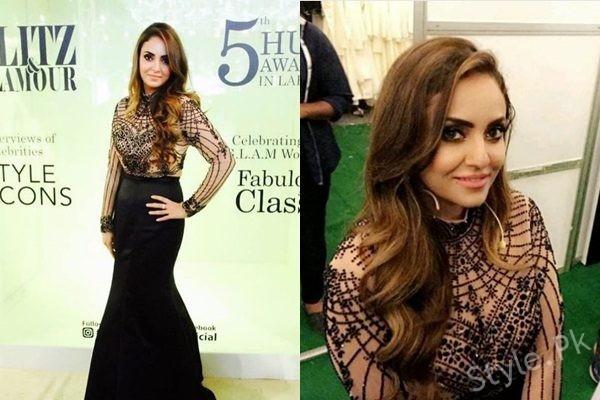See Nadia Khan at 5th HUM Awards