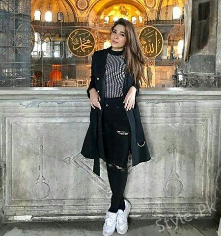 See Ayesha Omar having fun in Istanbul