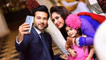 See Beautiful Family Pictures of Actor Afraz Rasool