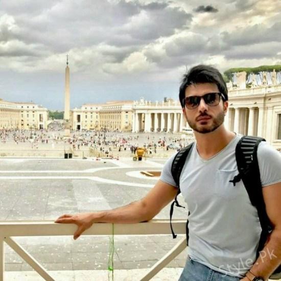 Imran Abbas On A Leisure Trip To Europe