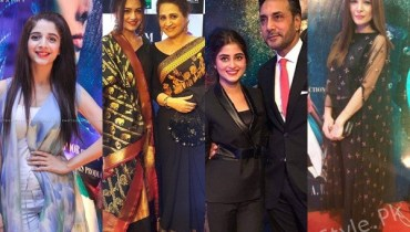 see Celebrities at Premier of Bollywood Movie MOM