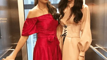 See Mahira Khan and Mawra Hocane at New Lux TVC Launch