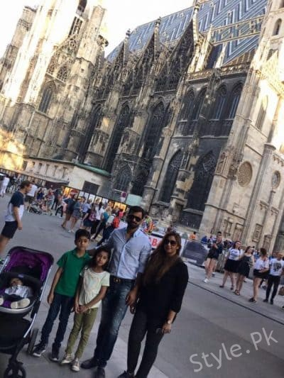 see Muhammad Hafeez And His Family In Austria!