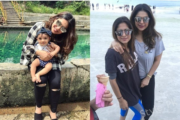 See Sanam Jung is Vacationing in Malaysia