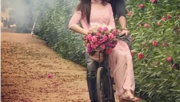 See Sana Javed and Feroze Khan's Photoshoot for drama serial Khaani