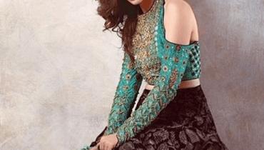 see Mesmerizing Photo Shoot Of Sana Javed For Warda Saleem's Collection