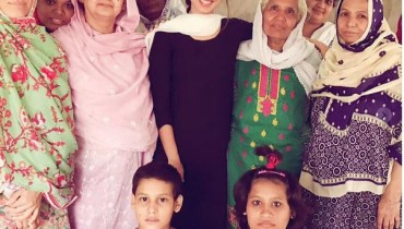 See Sonya Hussain Celebrated her Birthday at Edhi Foundation