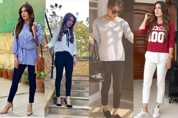 See Ayeza Khan's Pictures in Western Wear