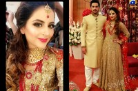 Fatima Effendi and Kanwar Arsalan as Bride and Groom