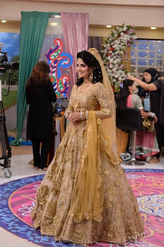 Latest Bridal Reception Dresses