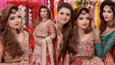 See Latest Pakistani Bridal Dresses and Bridal MakeupLatest Pakistani Bridal Dresses and Bridal Makeup
