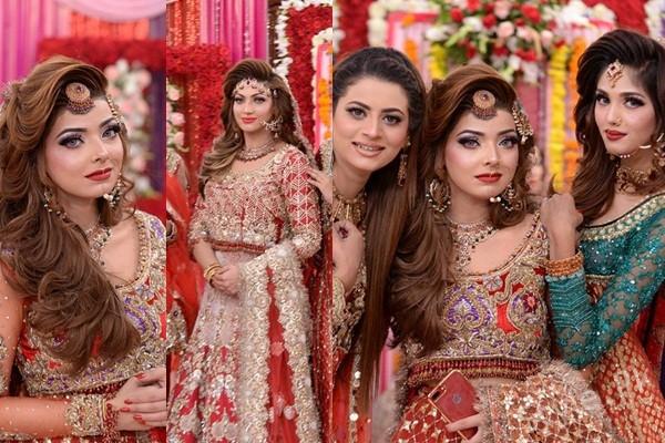See Latest Pakistani Bridal Dresses and Bridal MakeupLatest Pakistani Bridal Dresses and Bridal Makeup
