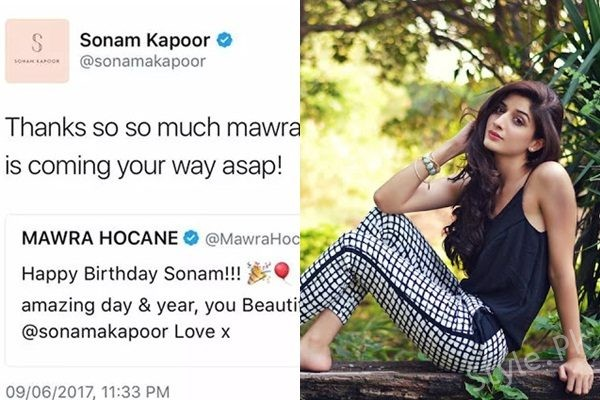 See Mawra Hocane meant to Star in Bollywood Movie with Sonam KapoorMawra Hocane meant to Star in Bollywood Movie with Sonam Kapoor