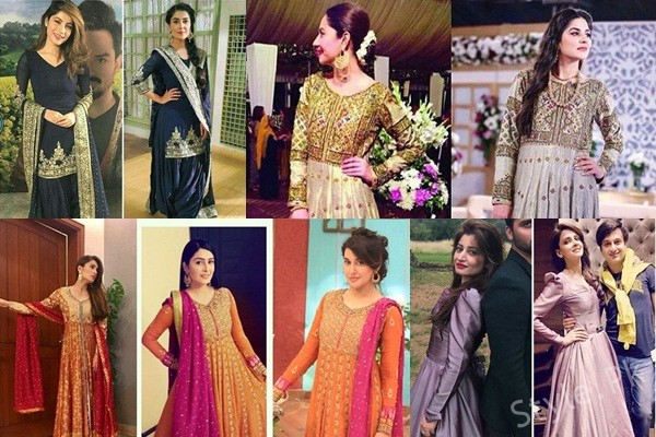 See Pakistani Celebrities Spotted in Same Dresses