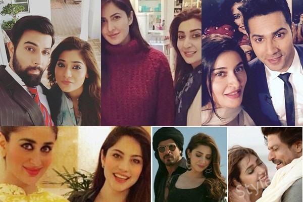 Pictures of Pakistani Celebrities with Bollywood Celebrities (1)