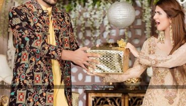 See Kubra Khan and Omer Shahzad's beautiful Pictures