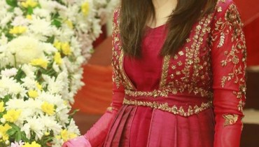 see Shaista Lodhi on the set of her Morning Show Geo Subha Pakistan