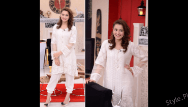 Hania Amir Glowing on the Morning Show Good Morning Pakistan!