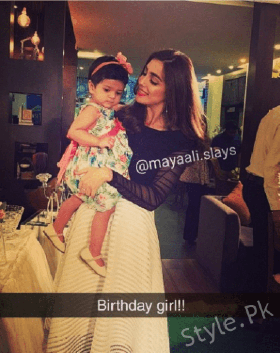 Grand Birthday Celebration Of Maya Ali At The Hashery Lahore
