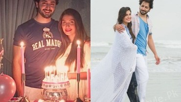 See Ayeza Khan and Danish Taimoor Celebrating 3rd Anniversary: