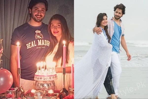 See Ayeza Khan and Danish Taimoor Celebrating 3rd Anniversary: