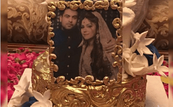 Ahmed Shahzad Wedding Anniversary Pictures