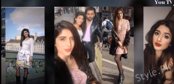 Urwa Hocane Wth Her Husband And Sister Enjoying Vacations