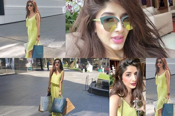 See Mawra Hocane takes on Shopping Spree in Bangkok