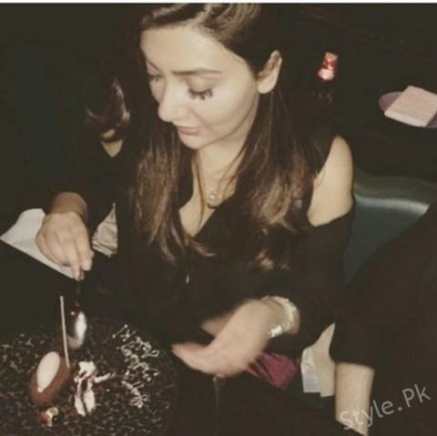 Aisha Khan Celebrated Her Birthday Last Night