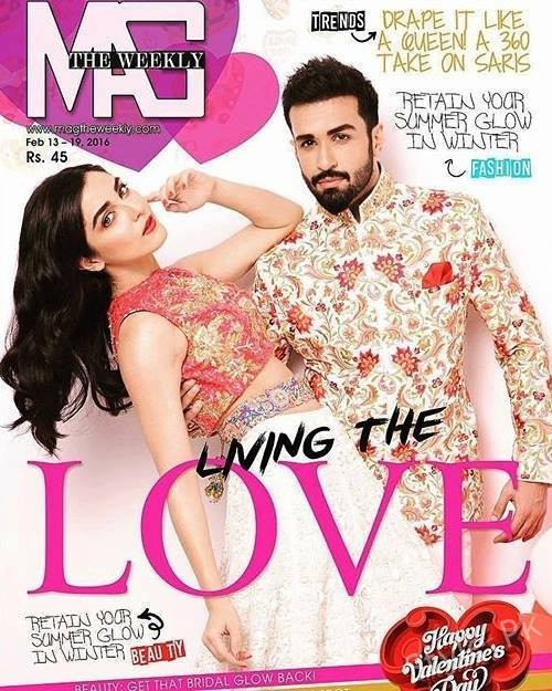 Latest Shoot Of Maya Ali & Azfar Rehman For Magazine
