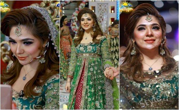 Gorgeous Natasha Ali In Geo Subah Pakistan
