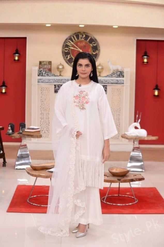 Iqra Aziz And Bilal Abbas At The Nida Yasir Morning Show