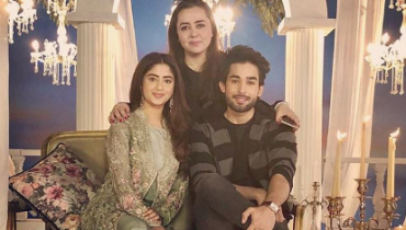 Latest Shoot Of Sajal Ali And Bilal Abbas Khan For Maria B