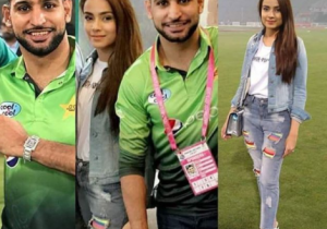 Amir Khan Was Spotted With Alyzeh Gabol During PakvsSL Match