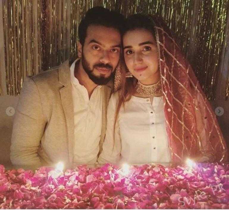 Anum fayaz Celebrates her first Wedding Anniversary, Celebrities, celebrities News, celebrity , Celebrity News , entertainment